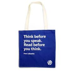 NYPL Fran Lebowitz Tote Bag