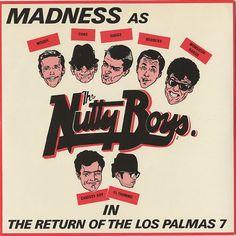 Madness The Return Of The Los Palmas 7 - Cartoon Sleeve UK vinyl single inch record) Greatest Album Covers, Music Album Covers, Music Albums, Ska Music, Music Icon, Fever Ray, Skinhead Girl, Mighty Mighty, Palmas
