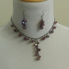 Necklace and Earrings Set Beautiful Croft and Barrow set Jewelry Necklaces