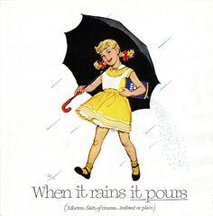 1957 Morton Salt girl