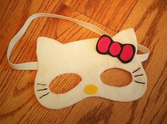 1000 images about dj alexis bday ideas 2014 on pinterest for Hello kitty mask template