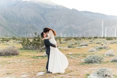 A Gorgeous Desert Engagement Shot by the Bride-to-Be