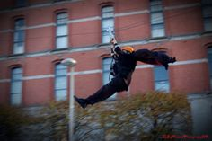 From this years Bram Stoker Festival, Dublin. The Vamp Wire, no ordinary zipline.