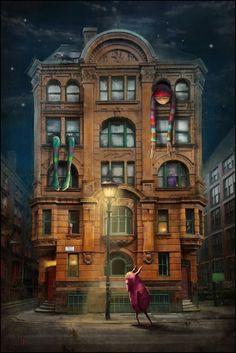 Nightmare from the Dale Street  by talented Matylda Konecka
