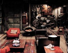 ~motorcycle garage