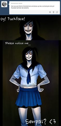 Creepypasta - Jeff the Killer . Creepypasta Slenderman, Creepypasta Characters, Jeff The Killer, 4 Panel Life, Creepy Pasta Family, Dont Hug Me, Horror, Eyeless Jack, Laughing Jack