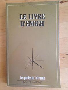 #ésotérisme : Le Livre d'Enoch. Robert Laffont / Les portes de l'étrange, 1975. 190 pp. brochées.