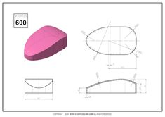 3D CAD EXERCISES 600 - STUDYCADCAM Autocad Isometric Drawing, Cad Drawing, Mechanical Design, Drawing Practice, Most Beautiful Indian Actress, Exercises, Social Media, Illustrations, Create