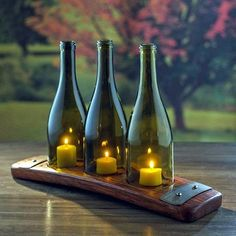 Cool Wine Bottles Craft Ideas (1)