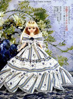 Molde De Vestido Princesa Baixar moldes de vestido de princesa para confecção de roupas para bonecas.