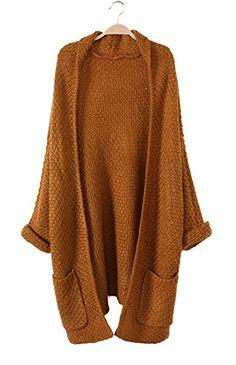 LaiGouMai Women's Sweater Loose Knitwear Long Cardigans LaiGouMai http://www.amazon.com/dp/B00YUDP288/ref=cm_sw_r_pi_dp_APhDvb1X954ZF