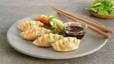 Asiatiske dumplings med dip - Sunn - Oppskrifter - MatPrat