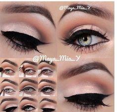 Eye Makeup: Step by step