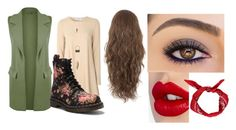 """""""fall"""" by xxvaleriex on Polyvore featuring mode, Glamorous, WearAll, Dr. Martens, Charlotte Tilbury, Charlotte Russe en Boohoo"""