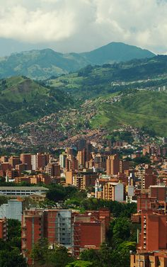 Photo about Medellin, the second biggest city in Colombia, which is the capital of the Department of Antioquia. Image of hill, tree, america - 16238767 Oh The Places You'll Go, Places To Visit, Colombia Travel, Smart City, South America Travel, Future Travel, Latin America, Beautiful Places, Around The Worlds