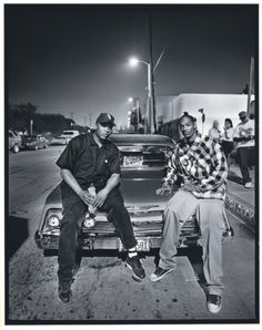 SNOOP DOGG AND DR. DRE by Mark Seliger