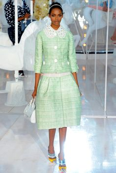 Louis Vuitton - Spring 2012 Ready-to-Wear - Look 6 of 49