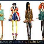 Disney, Studio Ghibli, and Marvel Characters Get Haute Couture Makeovers « Nerdist