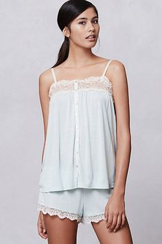 Peppermint Lace Set #anthropologie