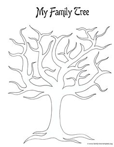 family tree template to print