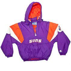 Starter - Phoenix Suns Pullover Jacket - 1990's