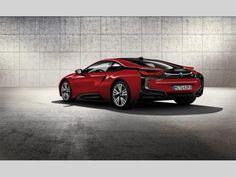 Prodám nové auto BMW i8 PROTONIC RED EDITION, rok výroby 2016, hybridní, automat, kupé, nové auto | Luxusní sportovní vozy