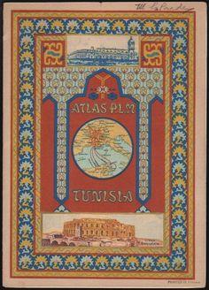 Atlas of Paris, Lyons and Mediterranean Railway, Tunisia (1917)