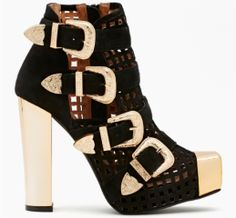 e5d14d663 A great cut out boot by Jeffrey Campbell. The season s hottest look Shoes  Heels Boots