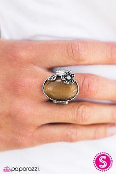 Moonlit Meadows Brown Ring