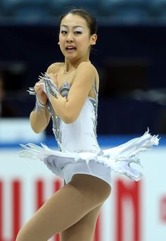 SOCHI, RUSSIA - DECEMBER 08:  Mao Asada of Japan performs in the Ladies Free Skating during the Grand Prix of Figure Skating Final 2012 at the Iceberg Skating Palace on December 8, 2012 in Sochi, Russia.