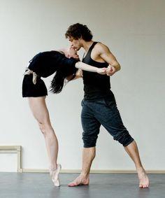 Natalia Osipova e Ivan Vasiliev - Ballet, балет, Ballett, Bailarina, Ballerina, Балерина, Ballarina, Dancer, Dance, Danse, Danza, Танцуйте, Dancing, Russian Ballet