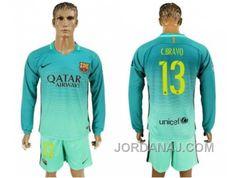 http://www.jordanaj.com/barcelona-13-cbravo-sec-away-long-sleeves-soccer-club-jersey.html BARCELONA #13 C.BRAVO SEC AWAY LONG SLEEVES SOCCER CLUB JERSEY Only $20.00 , Free Shipping!