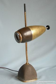 Oscar Torlasco, Enlightenment table lamp, 1955.