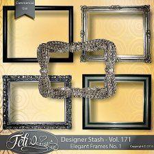 Designer Stash Vol 171 - Elegant Frames No. 1 - by Feli Designs #CUdigitals cudigitals.comcu commercialdigitalscrapscrapbookgraphics #digiscrap