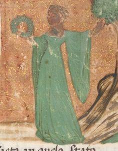Il Canzoniere. King's 321 fol 1. Italy, N. E. (Venice). 1400.