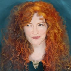 Kelly Macdonald as Princess Merida: | This Is What Disney Voices Would Look Like As Their Characters