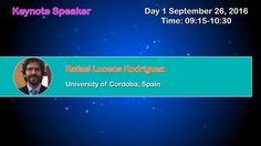 2nd International Conference and Expo on #SeparationTechniques September 26 - 28, 2016  Valencia, Spain