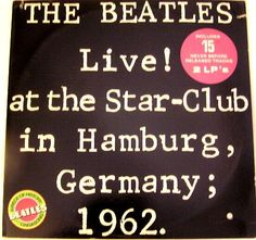 BEATLES LIVE AT THE STAR CLUB IN HAMBURG GERMANY PROMO 2LP SET [61339] - $169.99 : Vinyl Frontier Music, - Rare Records, CDs, posters, memorabilia, and more:, Vinyl Frontier Music, - Rare Records, CDs, posters, memorabilia, and more: