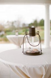 Pretty lanterns for a beach wedding