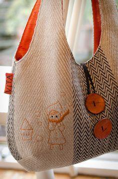 Bolsa -  Prachtige versie van de reversible bag