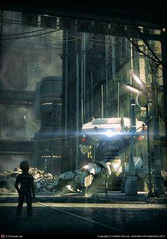 "Stefan Morrell's ""Urban Future"""