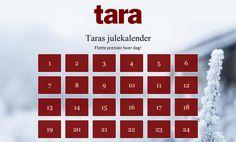 Sjekk ut Taras julekalender Nye premier hver dag!