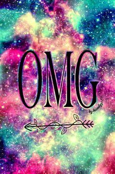 """OMG"" galaxy wallpaper I created!"