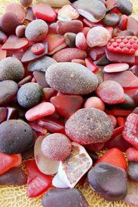 Red Sea Glass   Bella Mare Sea Glass