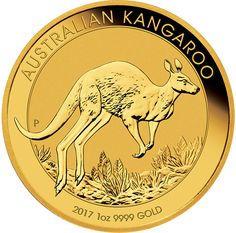 2017 Australian Kangaroo 1oz Gold Coin (Image 1)
