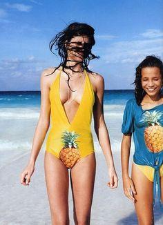 Pineapples at the Beach [via Elle]