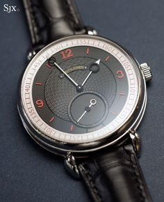 """Hands-On with the Voutilainen Vingt-8 ISO """"Oversized"""" in Platinum"""