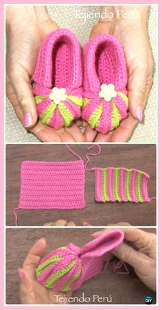 Crochet Accordion Pointed Baby Booties Free Pattern Video -Crochet Baby Booties Slippers Free Pattern by Tresa Benzo CoburnCrochet Accordion Pointed Could be made larger for older children!Crochet Baby Booties Slippers Free Patterns Instructions Crochet B Baby Patterns, Knitting Patterns, Crochet Patterns, Crochet Ideas, Crochet Designs, Crochet Baby Clothes, Crochet Baby Shoes, Crochet Baby Stuff, Booties Crochet