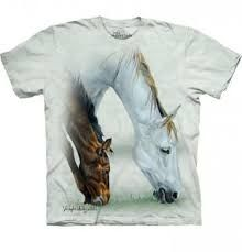 The Mountain Green Fillie & Mare Crewneck Tee - Toddler & Kids Cool Kids T Shirts, Cool Tees, Animal Graphic, Horse T Shirts, Horse Farms, Pet Clothes, Classic T Shirts, Tee Shirts, 1