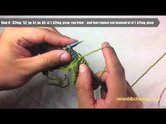 shell lace stitch
